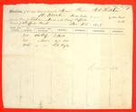 Steamer A. D. Patchin, Manifest, 14 Nov 1849