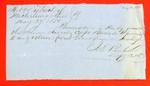 Schooner Arrow, Clearance, 27 May 1850