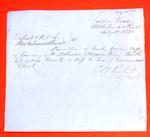 Schooner Clementine, Clearance, 12 Jul 1850