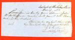 Schooner Julia, Clearance, 20 Aug 1850