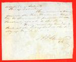 Schooner Maliala, Clearance, 16 May 1851