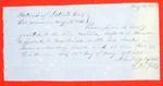 Schooner Mahala, Clearance, 30 May 1851