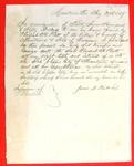 Bill of Sale, 27 Aug 1857,Schooner Clipper City
