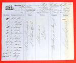 Propeller Northern Light, Manifest, 27 Jun 1859