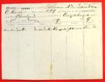 Schooner New London, Manifest, 1 Jul 1859