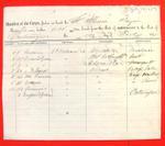 Schooner Illinois, Manifest, 14 Jul 1859