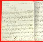 Letter, 1 Mar 1847, George Ehninger to  John R. Livingston