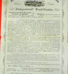 Steamer Dart, Inspector's Certificate, 7 July 1857