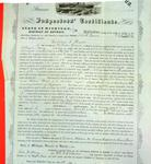 Steamer Forest Queen of Grand Rapids, Inspector's Certificate, 28 May 1857