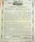 Steamer Stockman, Inspector's Certificate, 10 August 1858