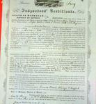Steamer Troy, Inspector's Certificate, 27 May 1857