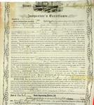 Steamer Empire, Inspector's Certificate, 11 May 1857