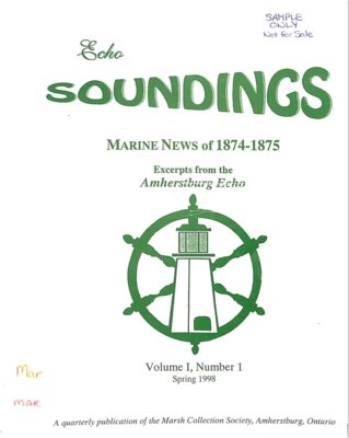 Echo Soundings: Marine News of 1874-1875