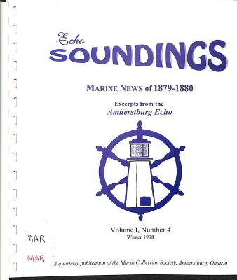 Echo Soundings:  Marine News of 1879-1880