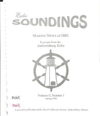 Echo Soundings: Marine News of 1881