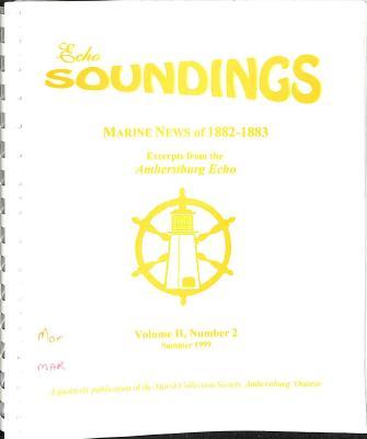 Echo Soundings:  Marine News of 1882-1883