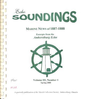 Echo Soundings: Marine News of 1887-1888