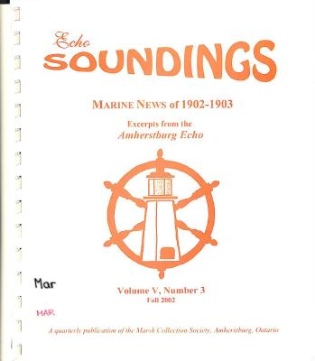 Echo Soundings:  Marine News of 1902-1903