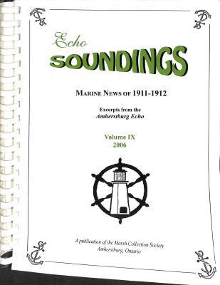 Echo Soundings: Marine News of 1911-1912
