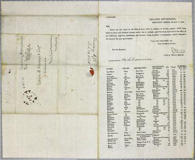 Treasury, Circular, 31 December 1824