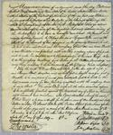 A. J. Dallas, Contract, 1 April 1819