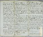 Charles O. Ermatinger, Bond, 15 July 1827