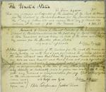 John Agnew, Invoice, 1 April 1832