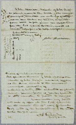 Argyle, Oath, 12 June 1847