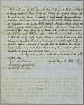 Napoleon, Bill of Sale, 19 September 1848