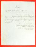 Robert B. Campbell, Permit, 14 October 1853