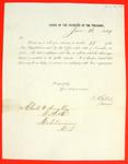 Office of the Solicitor of the Treasury, re number 15 of the New Regulations, Circular, 16 June 1849