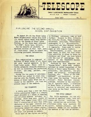 Telescope, v. 2, n. 6 (June 1953)