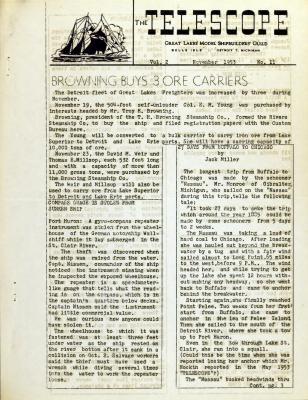 Telescope, v. 2, n. 11 (November 1953)