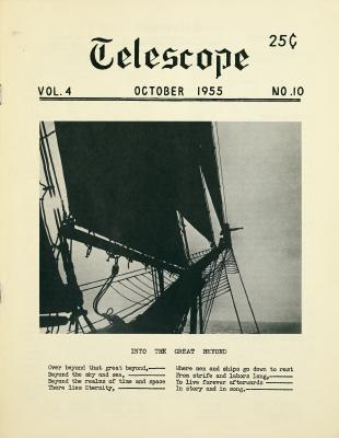 Telescope, v. 4, n. 10 (October 1955)