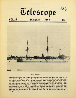 Telescope, v. 5, n. 1 (January 1956)
