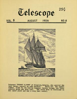 Telescope, v. 5, n. 8 (August 1956)