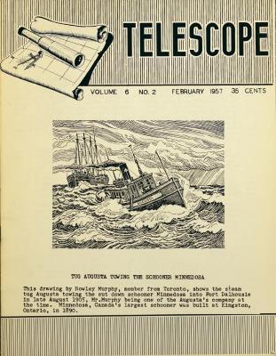 Telescope, v. 6, n. 2 (February 1957)