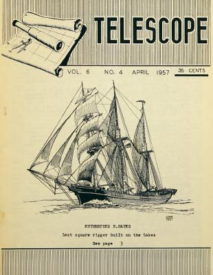 Telescope, v. 6, n. 4 (April 1957)