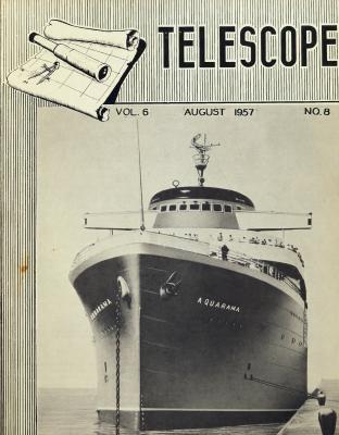 Telescope, v. 6, n. 8 (August 1957)