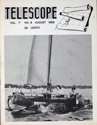 Telescope, v. 7, n. 8 (August 1958)