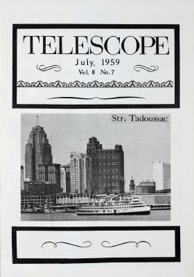 Telescope, v. 8, n. 7 (July 1959)