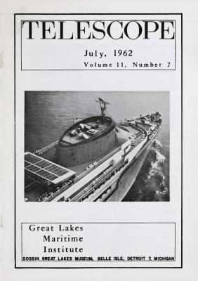 Telescope, v. 11, n. 7 (July 1962)