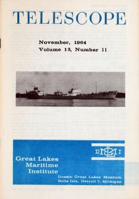 Telescope, v. 13, n. 11 (November 1964)
