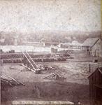 View at Houghton, Lake Superior