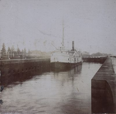 Ship Canal, Sault Ste. Marie, Lake Superior
