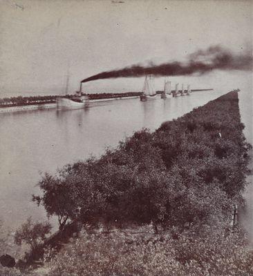 Tow of schooners