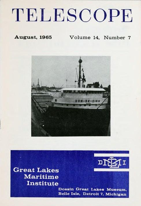 Telescope, v. 14, n. 8 (August 1965)
