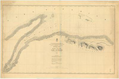 Huron Bay and Huron Islands, Lake Superior, 1869