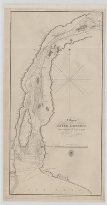 A Survey of the River Detroit [1815]