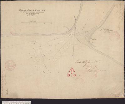 Grand River Entrance [1815]